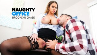 Brooklyn Chase Fucks Her Coworker  - Naughty Office