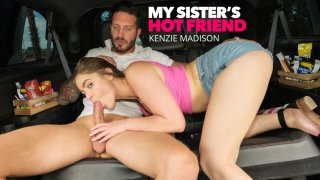 Kelly Turner (Kenzie Madison) gets fucked in the back seat  - My Sister's Hot Friend