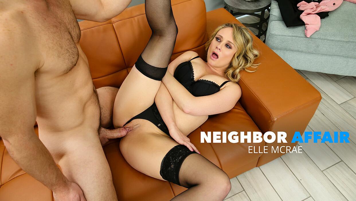 Elle McRae cheats on husband with manly neighbor - Neighbor Affair
