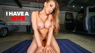 Kagney Linn Karter Fucks you DIRTY in the garage - I Have A Wife