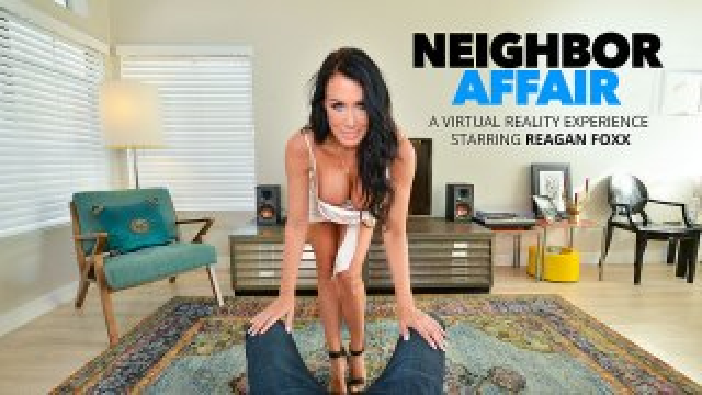 Reagan Foxx fucks photographer neighbor for fame - Neighbor Affair