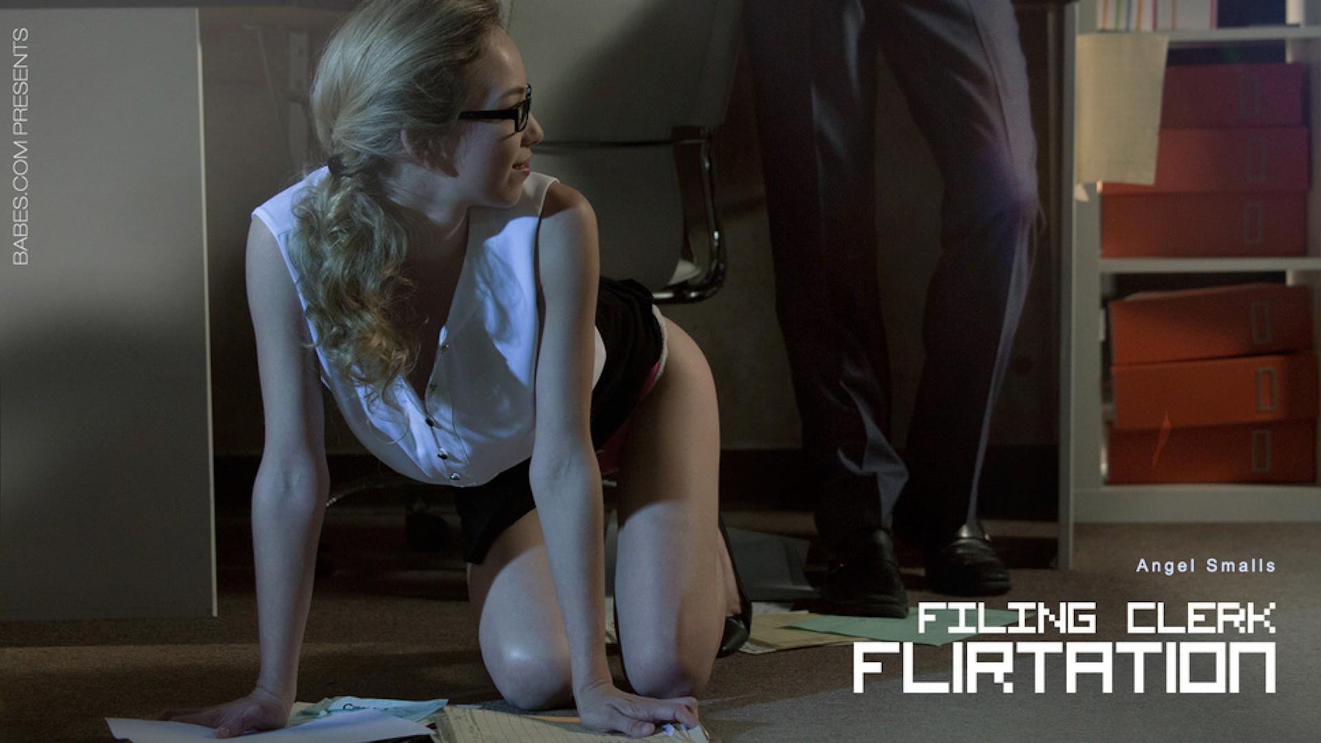 Filing Clerk Flirtation - Office Obsession