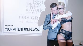 Your Attention, Please! - Office Obsession