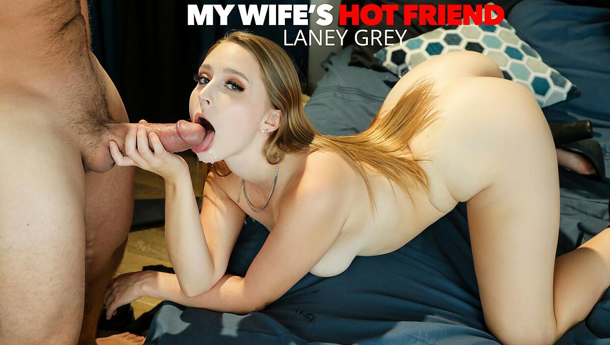 Laney Grey fucks her friend's husband one last time. - My Wife's Hot Friend