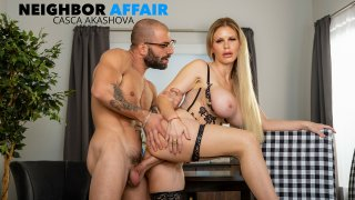 Casca Akashova, beautiful blonde bombshell gets a big thick cock for her MILF pussy - Neighbor Affair