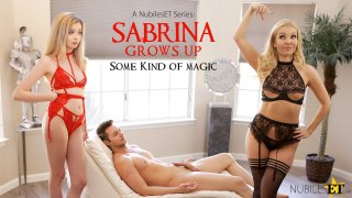 Sabrina Grows Up Some Kind Of Magic - S1:E9 - Nubiles Entertainment