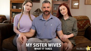 My Sister Wives What It Takes - S1:E10 - Nubiles Entertainment