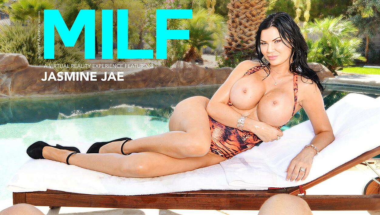 Jasmine Jae's Huge Tits Oiled Up - American Daydreams