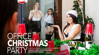 Three Girls Fuck You After The Holiday Party - American Daydreams