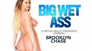 Brooklyn Chase Gives a show and fucks you in VR - American Daydreams
