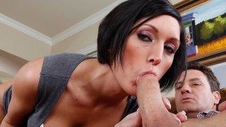 Dylan Ryder fucking in the couch with her tits - I Have A Wife