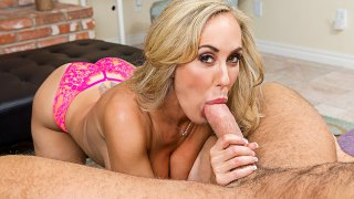 Brandi Love fucking in the living room with her tits vr porn - My Dad's Hot Girlfriend