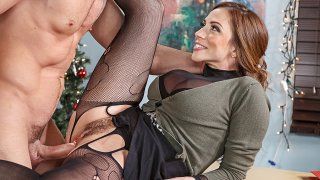 Ariella Ferrera fucking in the office with her big tits - Naughty Office