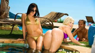 Alexis Texas fucking in the outdoors with her small tits - Neighbor Affair