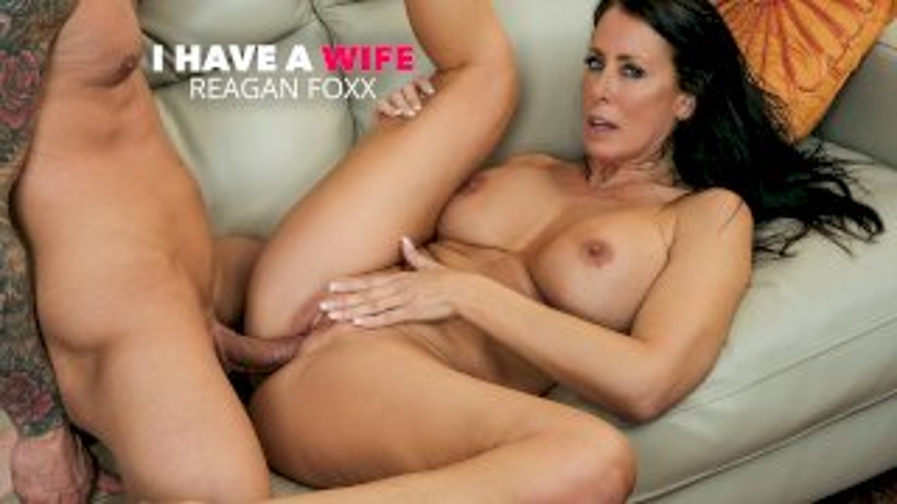 Hot Milf Reagan Foxx fucks a married man - I Have a Wife