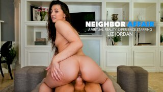 Liz Jordan house-sits for her neighbor and stumbles upon sexy lingerie and a big hard dick - Neighbor Affair
