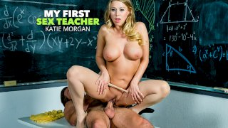 Katie Morgan gets a much needed fucking from her student - My First Sex Teacher