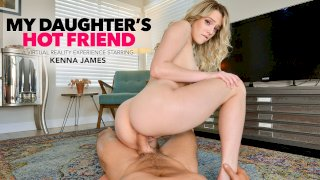 Kenna James gets caught topless at her friend's pool and seduces her friend's dad - My Daughter's Hot Friend