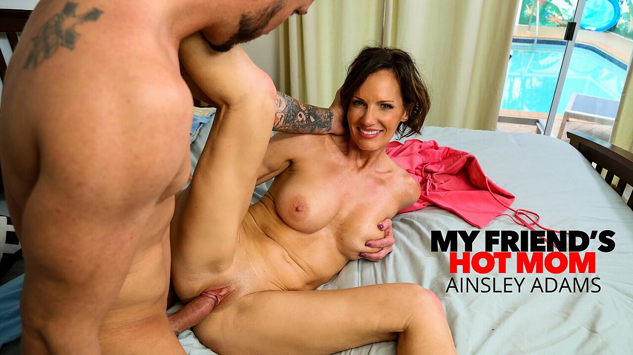 Hot Milf Ainsley Adams fucks a young cock - My Friend's Hot Mom