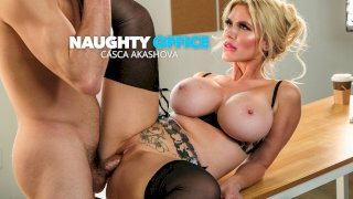 Bad Ass boss Casca Akashova knows what she wants and she wants Tyler's COCK!!! - Naughty Office