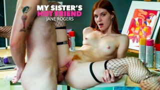 Super hot and slutty redhead Jane Rogers fucks in the classroom - My Sister's Hot Friend