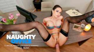 Your marriage counselor Crystal Rush wants to fuck your brains out! - Naughty Office