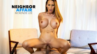 McKenzie Lee is ready to open her pussy and get fucked!!! - Neighbor Affair